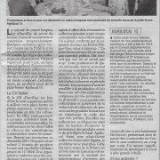 15-06-16 / L'union du Cantal – Du pounti cantalien sur les plateaux de l'hôpital